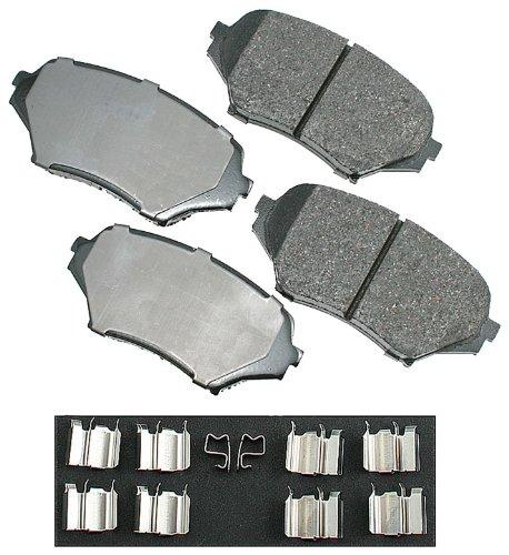 Akebono ACT1179 ProACT Ultra-Premium Ceramic Front Brake Pad Set For 2006-2010 Mazda MX-5 Miata