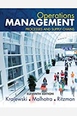 By Lee J. Krajewski - Operations Management: Processes and Supply Chains Plus NEW MyOML (10th Edition) (2012-07-31) [Hardcover] Hardcover