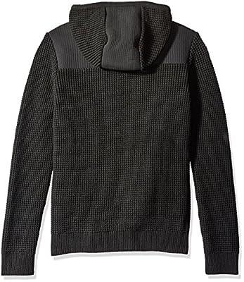 Calvin Klein Men's Texture Full Zip Hoodie