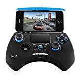 Ipega PG-9028 Wireless Bluetooth Game Controller Gamepad With Touch Pad for iPhone iPod iPad iOS System, Samsung Galaxy Note HTC LG Android Tablet PC
