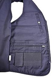 BLUESTONE Outback Concealment Vest, Black, 6X-Large