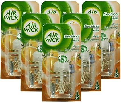 Airwick Después de relleno tecker para Aroma dispensador, contra Tabaco olor, 19 ml,