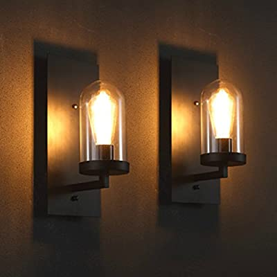 Arts and American retro hotel corridor light aisle space industrial wall lamp wall lamp American Village Cafe Bar