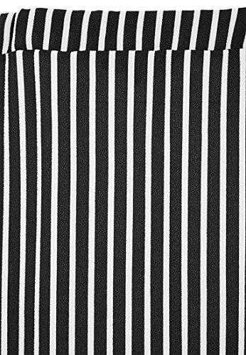 Vestino - Camisa deportiva - para mujer negro y blanco