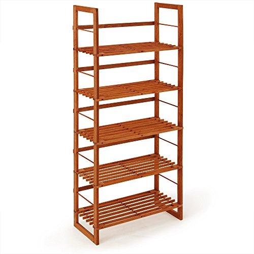 tagre meuble chaussures brun land 1355 x 26 x 57 cm meuble rangement bibliothque bois amazonfr cuisine maison