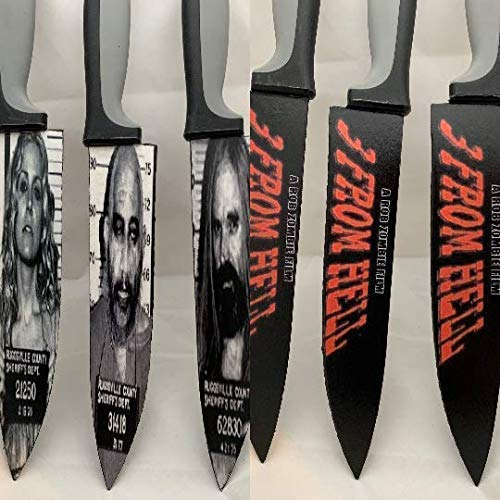 3 From Hell Knife Set Rob Zombie Cpt Spaulding Otis Baby