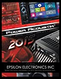 2015 art ca - Epsilon Electronics Inc: Epsilon Electronics Montebello, Ca 2015: Electronic Automotive Parts