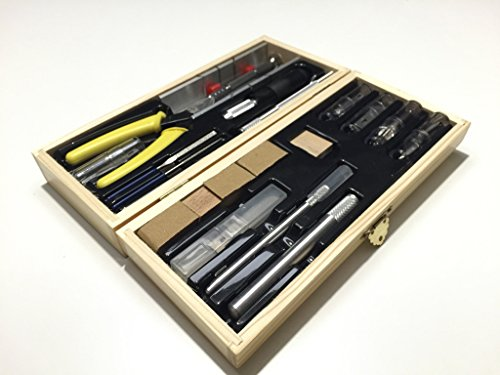 Deluxe Hobby & Craft Tool Set - Designed for Wood and Metal Modeling Sale Save 43% - Model Expo