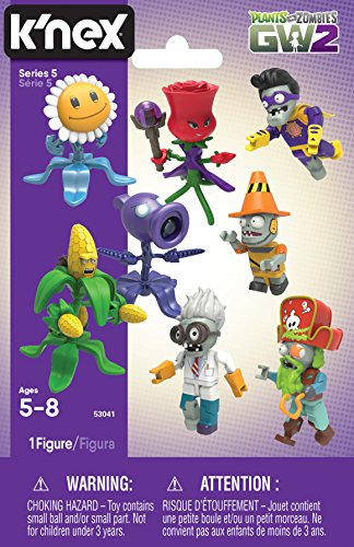 K'NEX GW2 Plants vs  Zombies Series 5 Mystery Pack