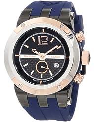 Mulco Unisex MW5-1621-045 Bluemarine Glass Chronograph Swiss Movement Watch