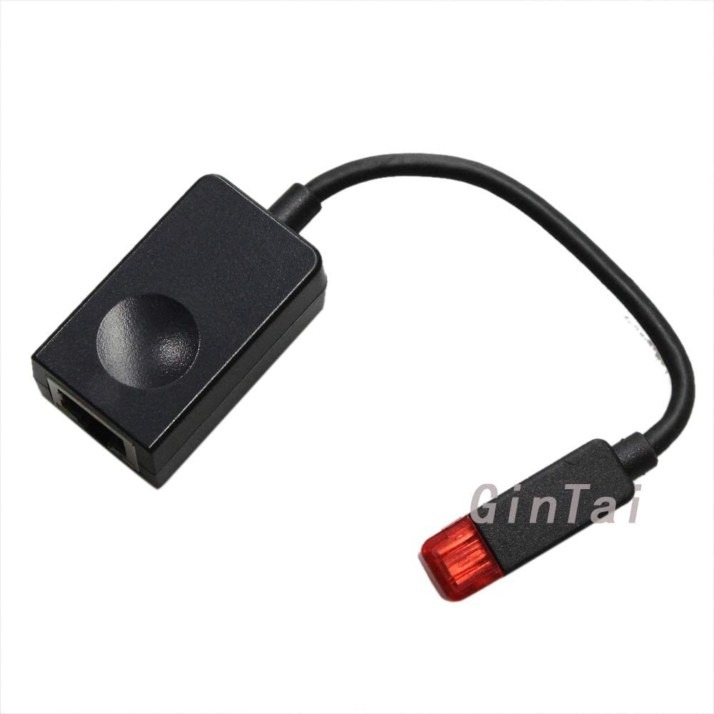 GinTai Adapter Dongle Cable Replacement for Lenovo Thinkpad X1 Carbon Ethernet RJ45 Extension SC10A39882BB 04X6435
