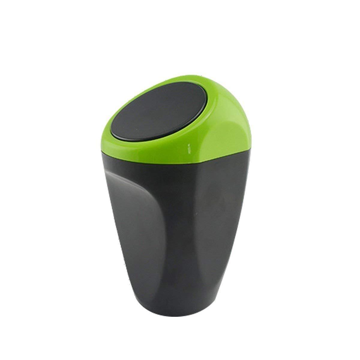 plastica Home Auto cestino spazzatura Cucina deposito bidoni forniture automobilistiche (verde) CHINA