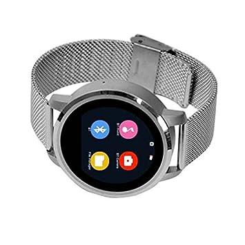 Fitness tracker reloj Inteligente,Monitor de Frecuencia Cardiáco,pantalla táctil capacitiva,Recordatorio sedentario