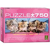 Eurographics Cats Under Blanket Jigsaw Puzzle, 750-Piece