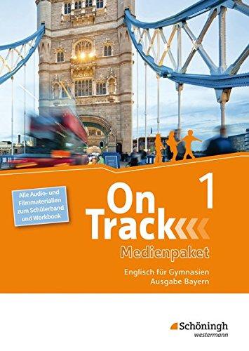 on-track-englisch-fr-gymnasien-ausgabe-bayern-medienpaket-1-alle-audio-und-filmmaterialien-zum-schlerband-und-workbook