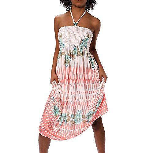 H112 donna estivo Aztec Bandeau colorato dell'abito