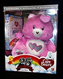 Special Collectors Edition Pink Care Bear 25th Anniversary Swarvoski Crystal Eyes with Bonus DVD