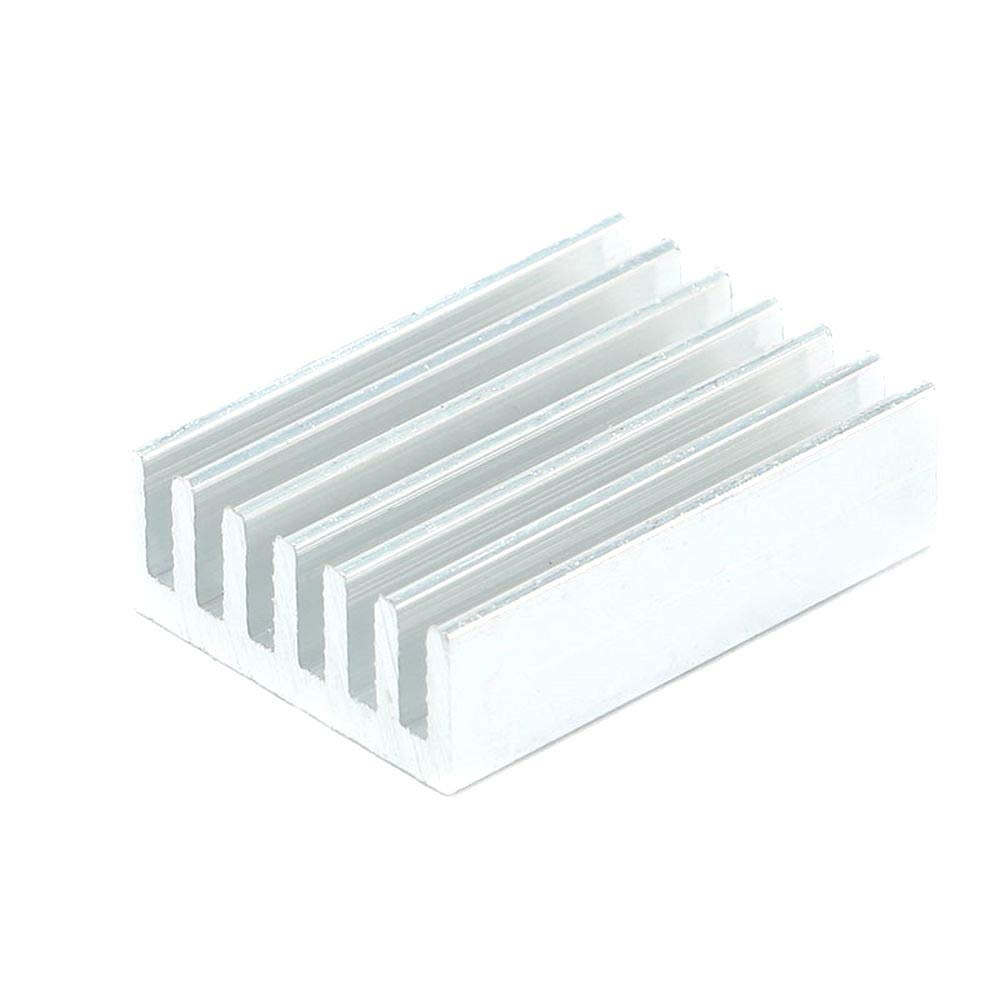 DIYElectronic 100 pcs 20146mm Radiator Heatsink Cooler Cooling Fin Aluminum Heat Sink for LED Power IC Transistor Module PBC 20x14x6mm