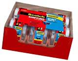 Scotch Heavy Duty Shipping Packaging Tape, 6 Rolls