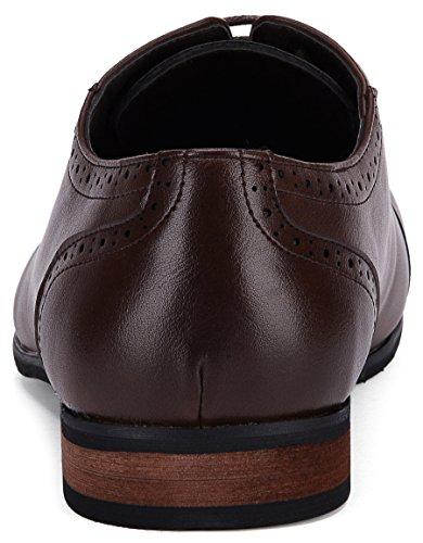 Captoe Design Oxford Shoe Chocolate Brown US-8.5D(M) | UK-41-42 | EU-8 by Gallery Seven (Image #4)