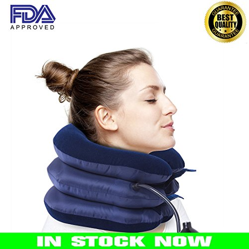 Euroa Cervical Neck Traction Device – Effective & Relief for Chronic Neck Shoulder Pain| Improve Spinal Alignment to Reduce Neck Pain| Cervical Collar Adjustable Collar for Comfort Instapark - Polo Sunglasses Warranty
