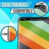 Galaxy S9 Screen Protector [2-Pack], ILLUMI AquaShield HD Clear Anti-Bubble Film Screen Protector for Galaxy S9 (Case Friendly Compatible)