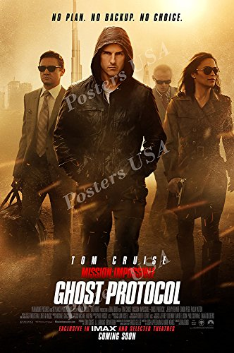 Posters USA - Mission Impossible Ghost Protocol Tom Cruise Movie Poster GLOSSY FINISH - MOV224 (24