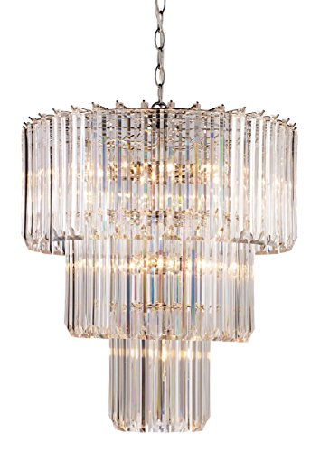 Signature 9 Light Pendant Polished Chrome