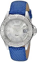 Invicta Women's 18401SYB Angel Analog Display Swiss Quartz Blue Watch