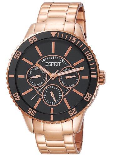 Esprit Men's Quartz Watch Marin Speed Rose Gold ES105082006 with Metal Strap