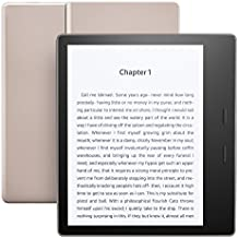 "Kindle Oasis E-reader – Champagne Gold, 7"" High-Resolution Display (300 ppi), Waterproof, Built-In Audible, 32 GB, Wi-Fi - with Special Offers"