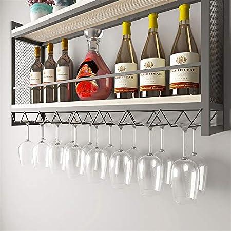 Armarios para vino Botelleros Vinoteca de pared Colgante de pared Expositor de vidrio Portavelas de vidrio columpio suspendido Barrica de vino para el hogar Rejilla de almacenamiento Estantería