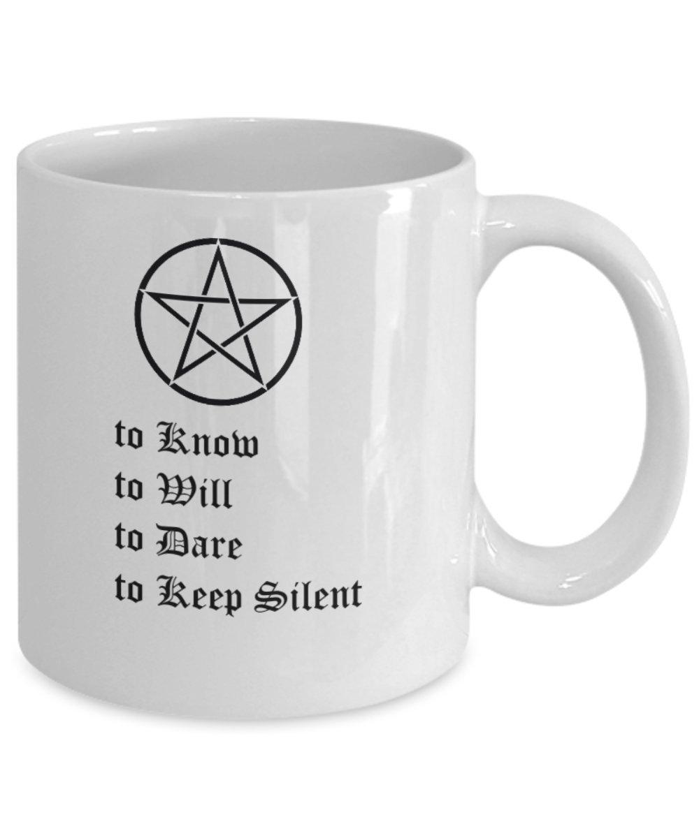Amazon.com: Taza de café esotérica, para saber que se ...