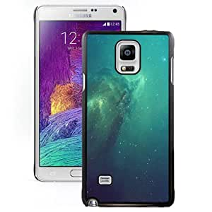 New Fashionable Designed For Samsung Galaxy Note 4 N910A N910T N910P N910V N910R4 Phone Case With iOS 7 Blue Outer Space Phone Case Cover