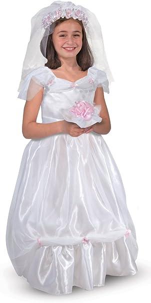 Melissa & Doug - Disfraz de novia para niños (14274): Amazon.es ...
