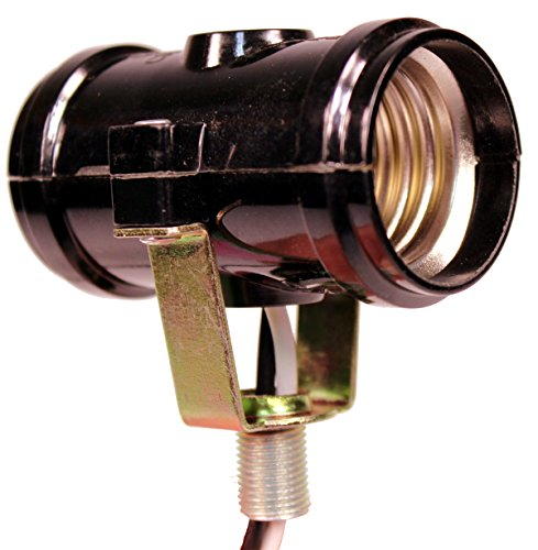 Dblskt Medium Base E26 Double Light Fixture Socket With 1