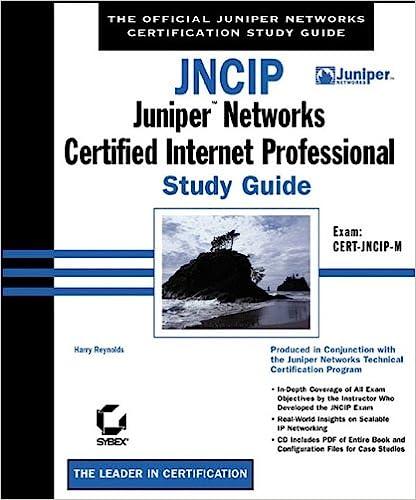 JNCIP: Juniper Networks Certified Internet Professional Study Guide