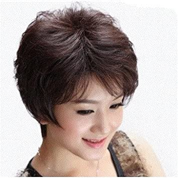 Short Curly Hair With Bangs Girls 106