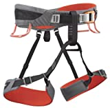 Black Diamond Momentum SA Climbing Harness - Steel/Lava Medium