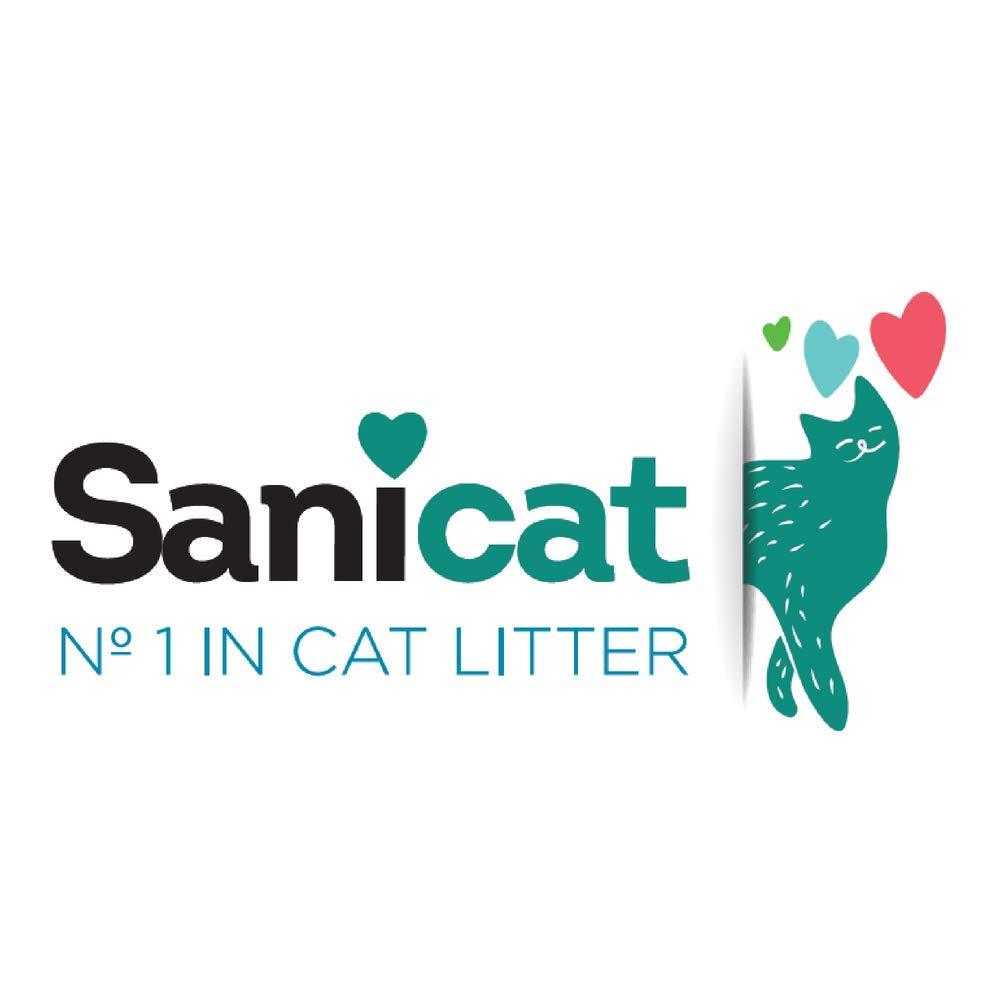 SANICAT Classic Arena Absorbente de Gatos - 10L: Amazon.es: Productos para mascotas