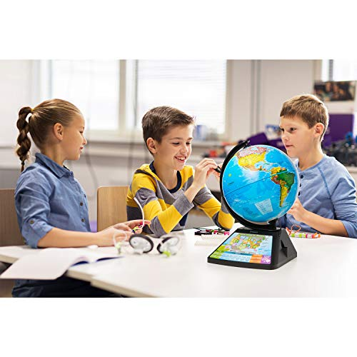Oregon Scientific SG268R-K Smart Globe Adventure AR World Geography Educational Games For Kids - Learning Toy, 4000+ Fun facts, 220+ Countries to Explore, 25 Games to Play by Oregon Scientific (Image #3)