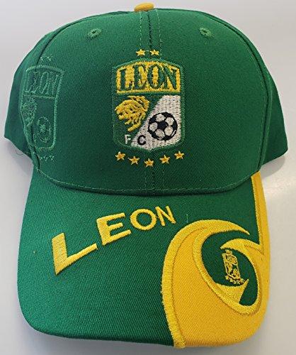 Sol Sport New! Club Deportivo Leon La Fiera Embroidered Adjustable Cap