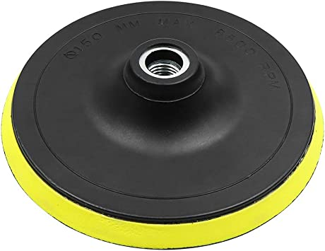3 Inch Automotive Car M10 Pad Polisher Buffing Backing Plate Hook /& Loop