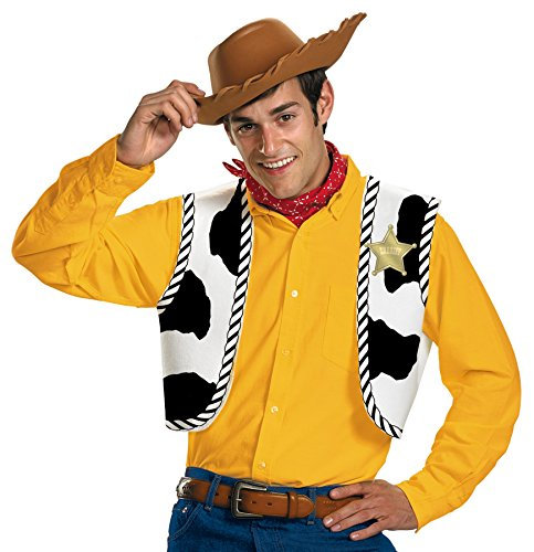 (Disguise Disney Toy Story Woody Adult Halloween Costume Accessory)
