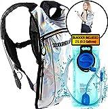SoJourner Rave Hydration Pack Backpack - 2L Water Bladder included for festivals raves