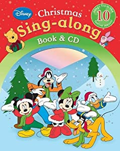 disney christmas sing along books