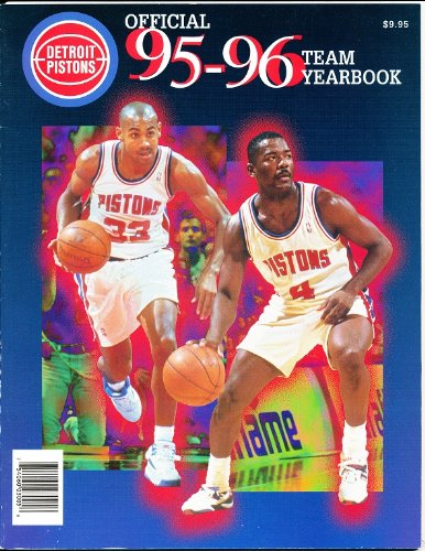1995-96-Detroit-Pistons-Official-Yearbook