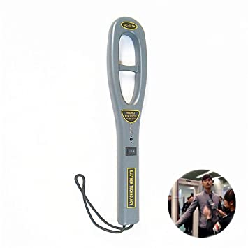 ReaYouth High Sensitivity Handheld Safety Inspection Metal Detector Pinpointer Metal Detector with Buzzer Vibration for Security