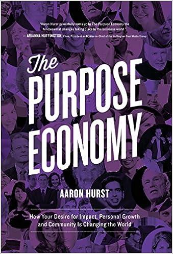 Purpose Economy Book Cover