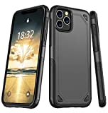 Potalux iPhone 11 Pro Case, iPhone XI Pro Case【2019】 Stylish Dual Layer Hard PC Back Full Body Protective Shockproof Slim Wireless Charging Support Case for iPhone 11 Pro/iPhone XI Pro(5.8inch)
